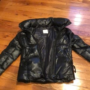 Girls black SAM jacket